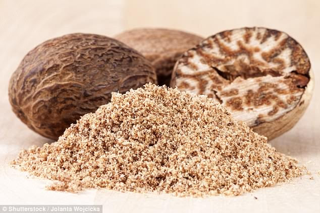 Nutmeg may protect against liver damage, new research suggests (stock)