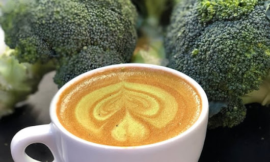 Broccoli coffee is now a thing, because some people just *really* hate eating veggies