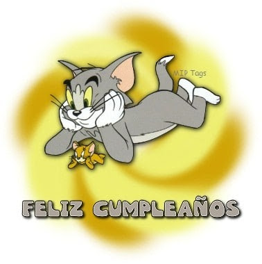 Feliz cumpleaños de Tom y Jerry