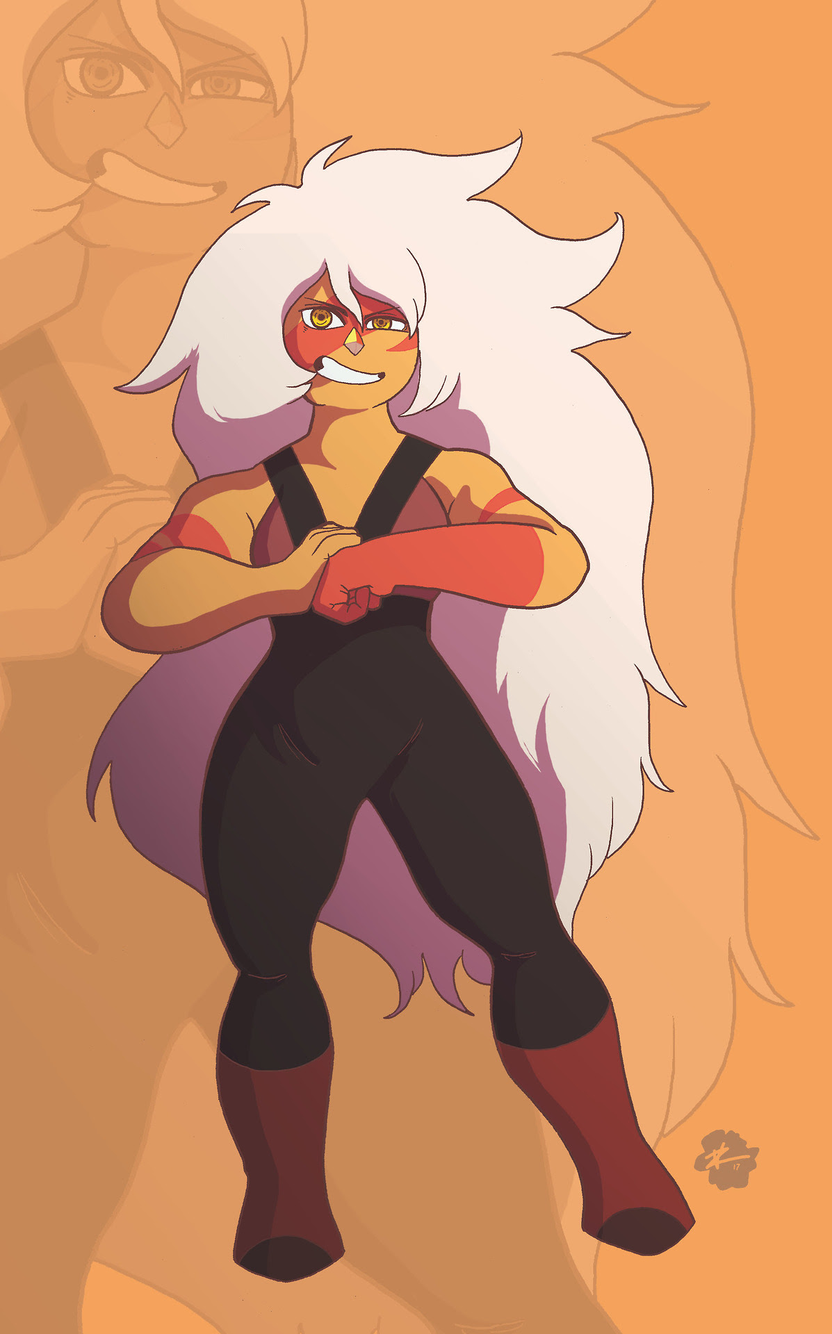 """Jasper Part 8 of 12 of Gems Collection by Phil Vazquez """"Nobody I ever fuse with wants to stay.."""""""