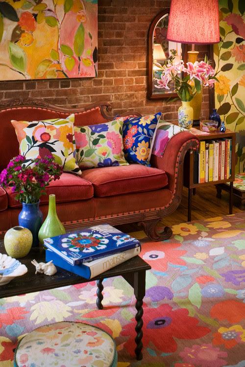 Kim Parker Interiors Designer Showcase Space 05 eclectic living room