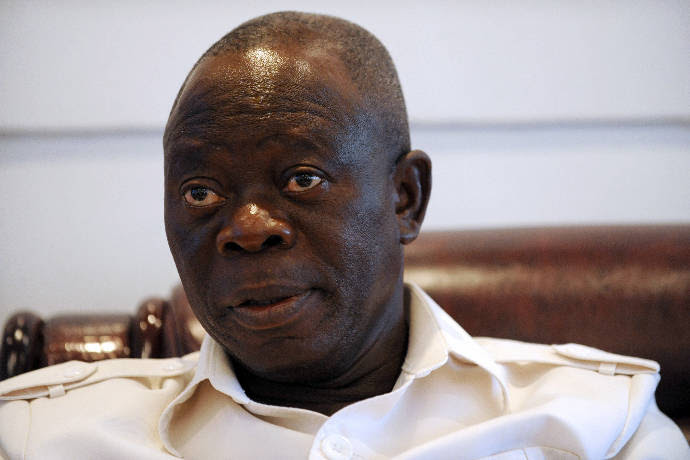 """""""I Have 90% Of The Governors On My Side, Only 1 Or 2 Are Unhappy"""" – Oshiomhole"""