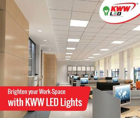 Brighten your work space with KWW LED Lights