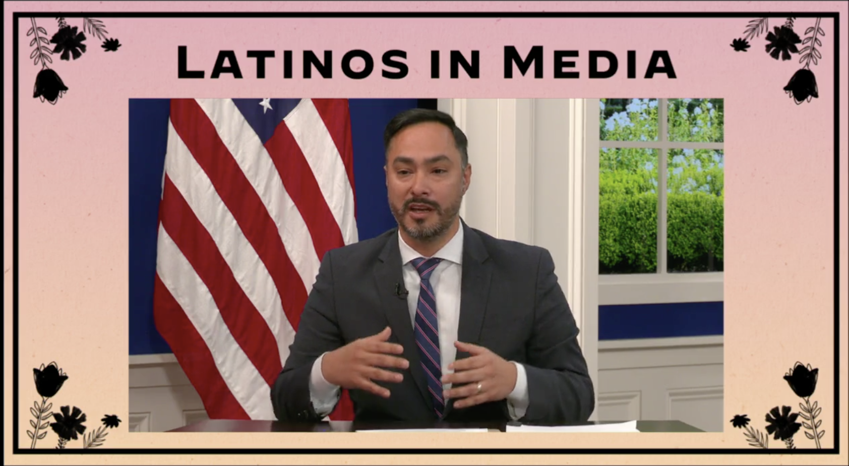 Watch: 'Latinos in the Media' Livestream in Honor of Hispanic Heritage Month