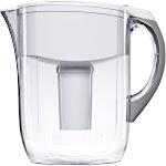 Brita 35565 Water Filtration Pitcher, White, 10 Cups