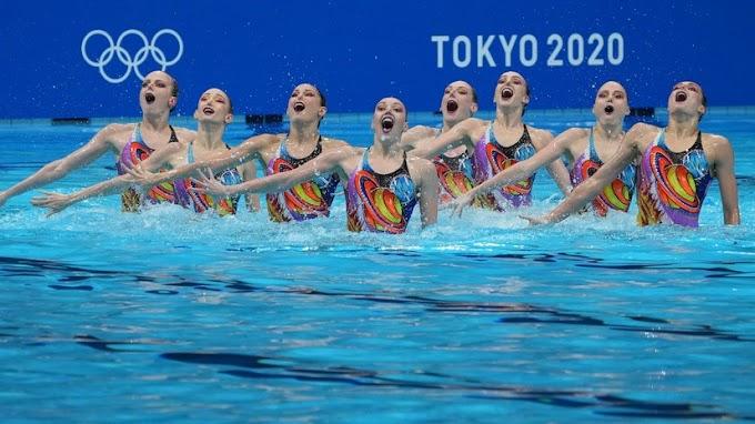 Великолепная восьмёрка: российские синхронистки сделали золотой дубль на Играх в Токио в самый нужный момент
