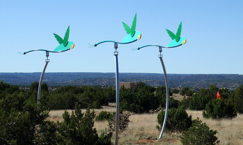 Some more Santa Fe wind vanes to pique your interest.