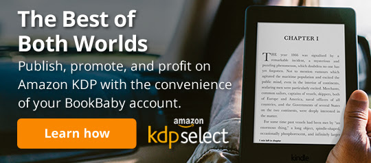 The Best of Both Worlds. Publish, promote, and profit on Amazon KDP with the convenience of your BookBaby account.