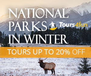 Winter in National Parks: Up to 20% Off
