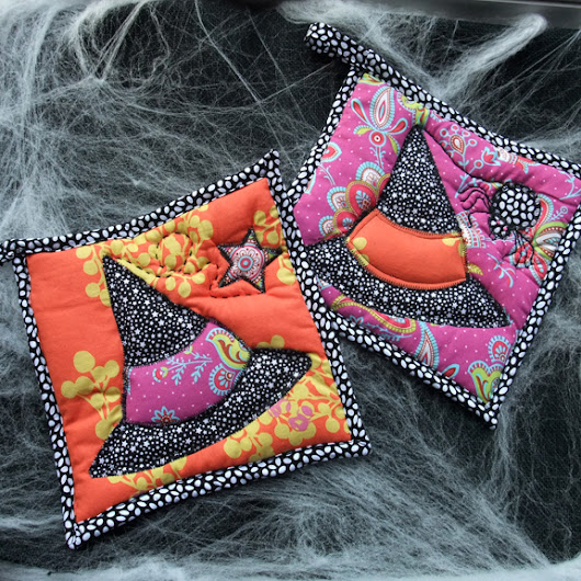 Halloween Potholder from june Daley