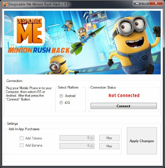 Minion Rush Hack - Minion Rush Cheat         ~          Minion Rush Hack