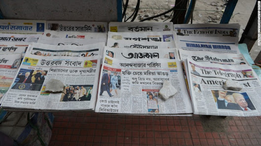India's newspapers are thriving despite global pressure on print
