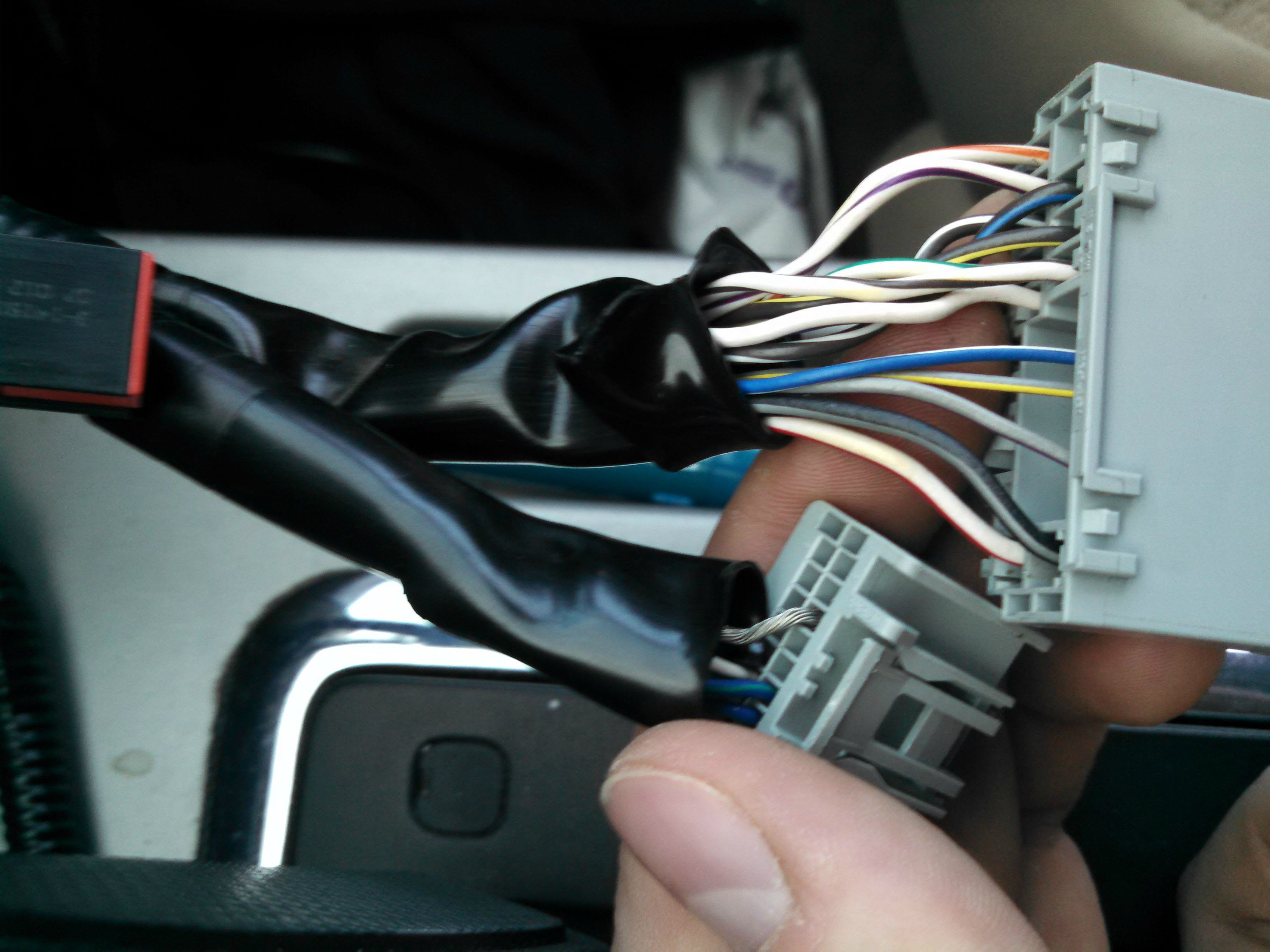 Mazda Tribute Radio Wiring