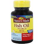 Nature Made Fish Oil Pearls 500 mg. 90 Liquid Softgels