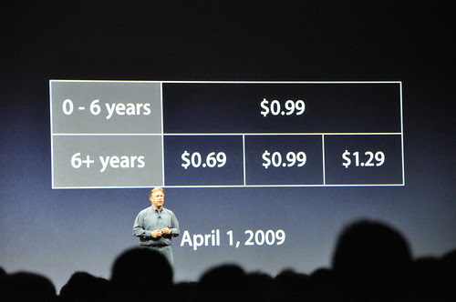 New variable pricing in iTunes, but *all* music will now be DRM-free by Lee Bennett.