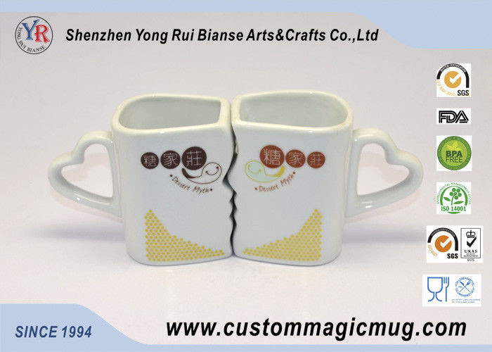 Lovely Multi Photo Color Changing Couple Coffee Mugs That Change