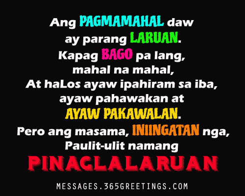 Love Tagalog quotes for her, Tagalog Love Quotes for her from the ...