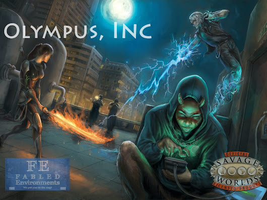 Olympus, Inc: A Savage Worlds Setting Book by Charles White —  Kickstarter