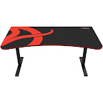 Arozzi - Arena Gaming Desk - Red/Black