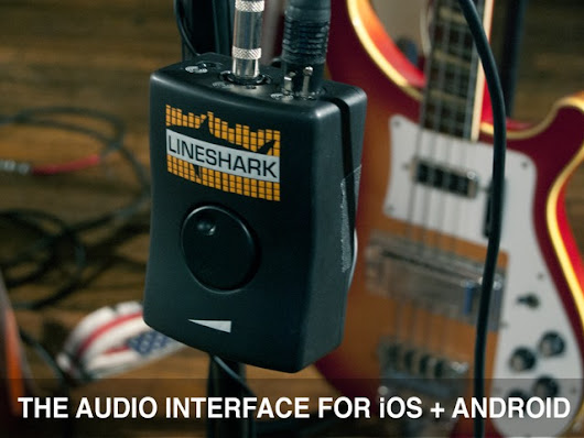LineShark - The Audio Interface for Any Mobile Device