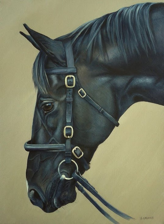 Dick Turpin, Acrylic painting by Stephanie Greaves | Artfinder