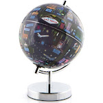 "Globee Las Vegas 9"" Illustrated Globe"