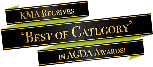 KMA Receives 'Best of Category' in ADGA Awards