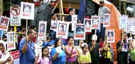 International Human Rights Day<br>demonstration, Dec. 10, Cebu City,<br>Philippines.