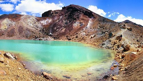 Emerald Lakes Panorama