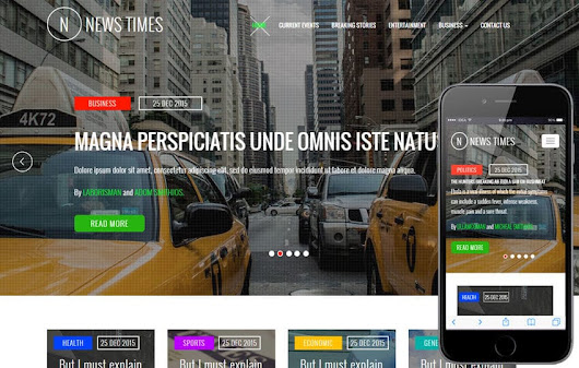 News Times a Entertainment Category Flat Bootstrap Responsive Web Template - w3layouts.com