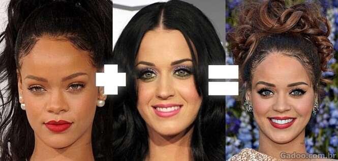 Combinações de rostos famosos que geraram resultados surpreendentes
