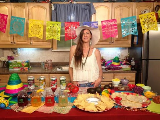 "Cinco de Mayo Tostada Party, Lime-a-Ritas, Avocado Mango Salsa and Paletas with Chef ""Uchi"" - Candace Rose"