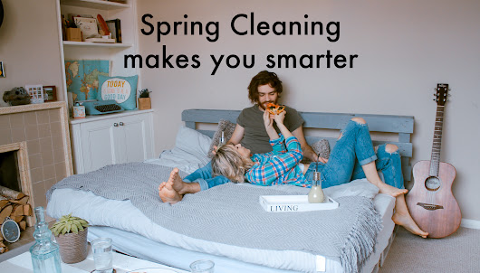Spring Cleaning makes you smarter | blog