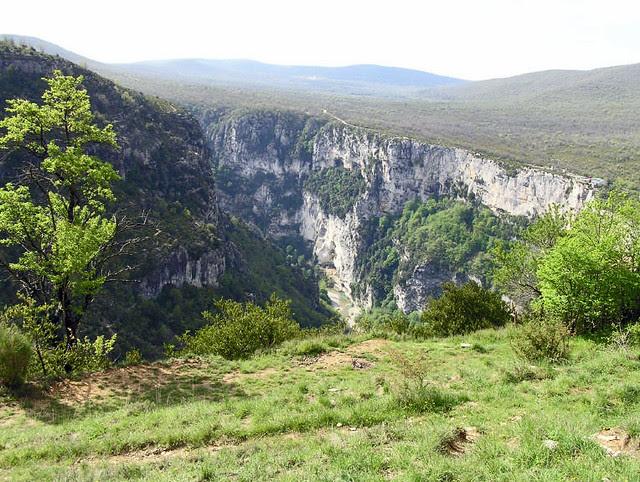 Il Canyon visto da La Maline