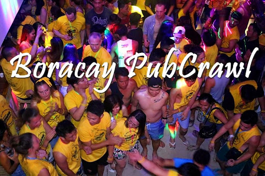 TURN STRANGERS INTO FRIENDS | BORACAY PUBCRAWL | The Happy Trip