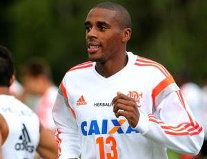 Marcelo Flamengo treino (Foto: Gilvan de Souza)