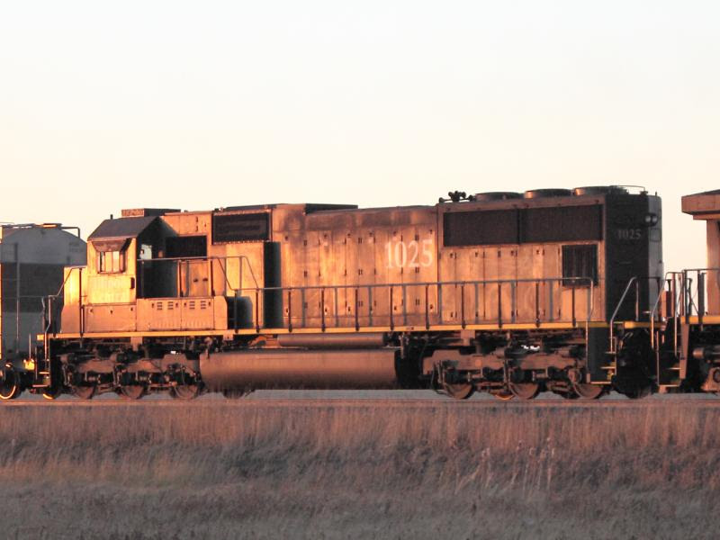 IC Illinois Central 1025 in Winnipeg