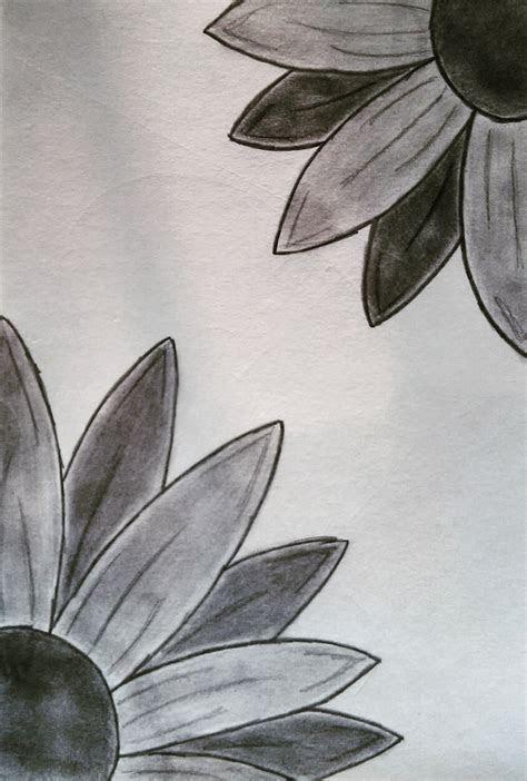 peek  boo flowers paintings   zeichnung