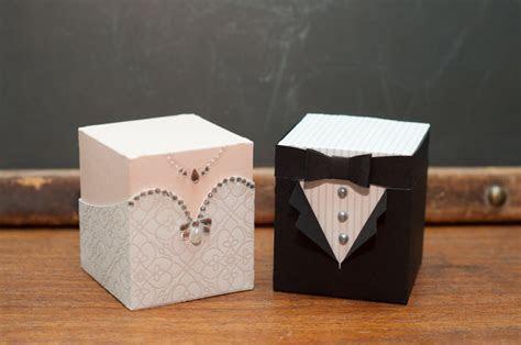 Bride and Groom Boxes by Susiespotless   at Splitcoaststampers