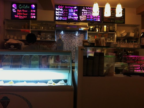 icecream counter