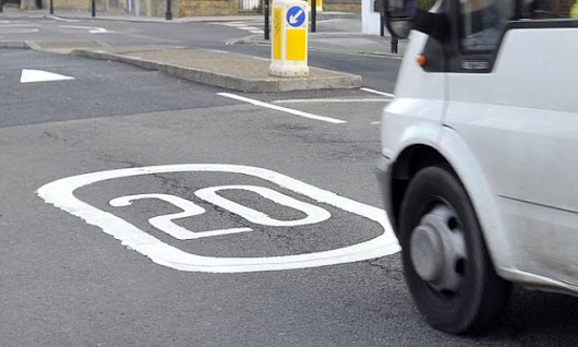 Council scraps 20mph limit because it made no difference to speed