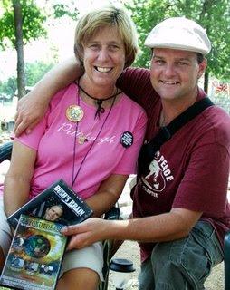 Dennis Kyne & Cindy Sheehan JPG