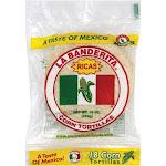 La Banderita Corn Tortillas - White - 16 Oz - Pack of 12