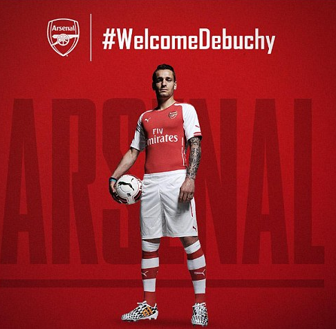 Debuchy signing shows Arsenal are ready to compete with the Premiership elite