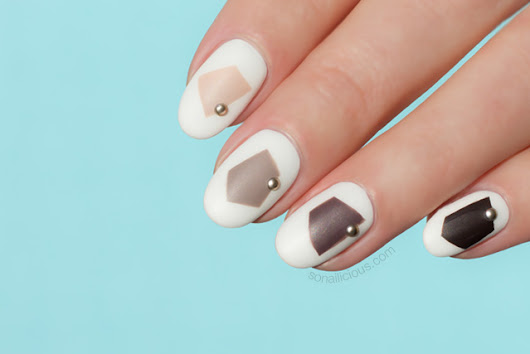 Tutorial: Edgy Fall Nail Design How To