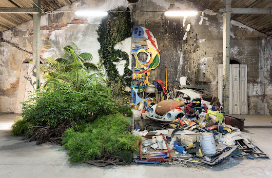 Bordalo II Opens the Doors to 'Attero,' a Giant Exhibition of Animal Assemblages Built with Trash