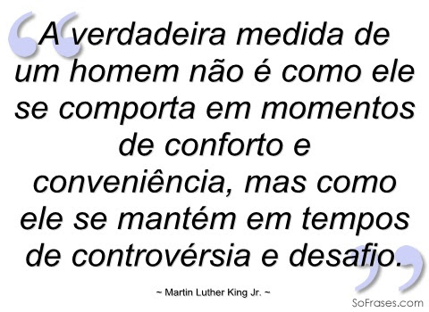 Cultura: Frases de Martin Luther King