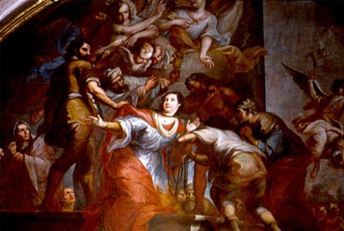 Resultado de imagen para SANTA PRISCA, VIRGEN y MÁRTIR