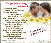 Anniversary Card by Oriza