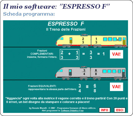 http://www.softwaredidatticofree.it/schedaespressofrazioni.htm